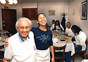 Willie Mae Seaton and her granddaughter Kerry Seaton-Blackman at Willie Mae's Scotch House in Treme, 2005