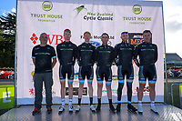 CMI team. The opening ceremony of the NZ Cycle Classic UCI Oceania Tour at Queen Elizabeth Park in Masterton, New Zealand on Tuesday, 14 January 2020. Photo: Dave Lintott / lintottphoto.co.nz