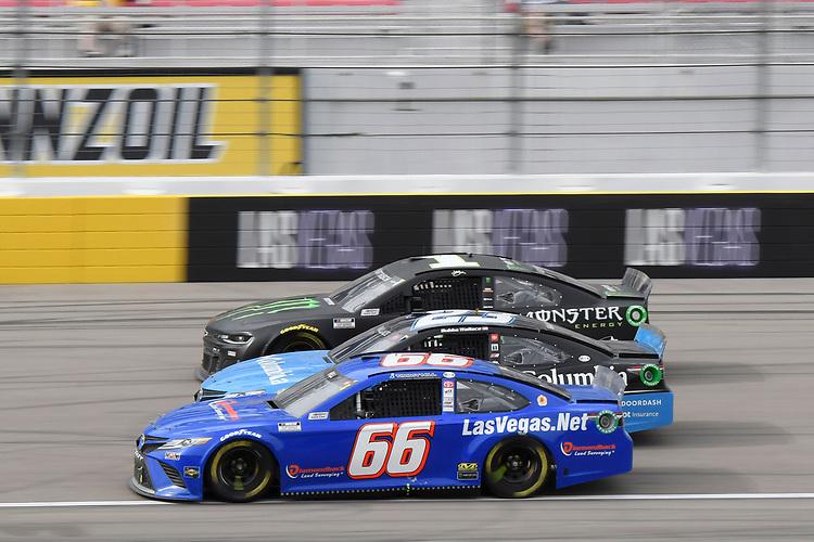 #66: Timmy Hill, Motorsports Business Management, Toyota Camry, #1: Kurt Busch, Chip Ganassi Racing, Chevrolet Camaro Monster Energy