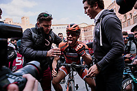 Annika Langvad (DEN/Boels - Dolmans) finishes 2nd<br /> <br /> 5th Strade Bianche WE (1.WWT)<br /> One day race from Siena to Siena (136km)<br /> <br /> ©JojoHarper for kramon