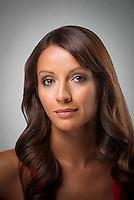 Portrait of Hispanic woman