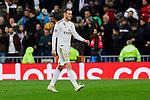 Gareth Bale of Real Madrid during UEFA Champions League match between Real Madrid and Paris Saint-Germain FC at Santiago Bernabeu Stadium in Madrid, Spain. November 26, 2019. (ALTERPHOTOS/A. Perez Meca)
