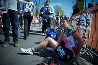 Elena Cecchini (ITA/Lotto-Soudal) post-race<br /> <br /> Flèche Wallonne Féminine 2015