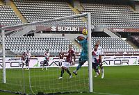 Torino 08-11-2020<br /> Stadio Grande Torino<br /> Campionato Serie A Tim 2020/21<br /> Torino - Crotone <br /> nella foto:    il palesava il crotone                      <br /> foto Antonio Saia -Kines Milano
