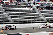 #4: Todd Gilliland, Kyle Busch Motorsports, Toyota Tundra JBL/SiriusXM, #23: Timothy Peters, GMS Racing, Chevrolet Silverado AUTOSBYNELSON.COM