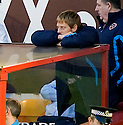 31/10/2009  Copyright  Pic : James Stewart.sct_jspa24_motherwell_v_hearts  . :: HEARTS CAPTAIN MICHAEL STEWART WATCHES FROM THE SIDELINES :: .James Stewart Photography 19 Carronlea Drive, Falkirk. FK2 8DN      Vat Reg No. 607 6932 25.Telephone      : +44 (0)1324 570291 .Mobile              : +44 (0)7721 416997.E-mail  :  jim@jspa.co.uk.If you require further information then contact Jim Stewart on any of the numbers above.........