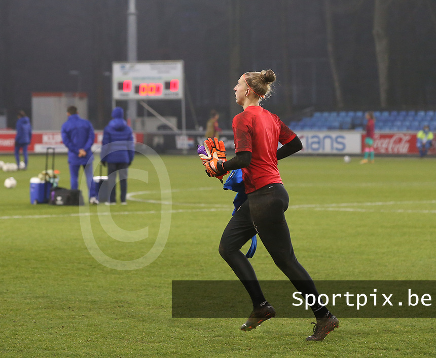 a female soccer game between PSV Eindhoven Vrouwen and Barcelona, in the round of 32, 1st leg of Uefa Womens Champions League of the 2020 - 2021 season , Wednesday 9th of December 2020  in , Eindhoven, the Netherlands. PHOTO SPORTPIX.BE | SPP | SEVIL OKTEM