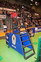 17-12-11, Netherlands, Rotterdam, Topsportcentrum, Scheidsrechtersstoel