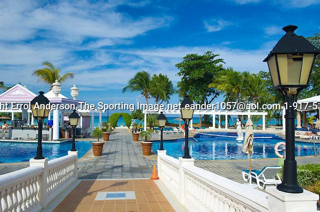 Riu Palace Tropical Bay Hotel, Negril, Jamaica. November 30, 2012.