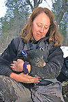 Kris Timmerman With Bear Cub