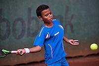 Hilversum, Netherlands, August 8, 2016, National Junior Championships, NJK, Kyler Colijn (NED)<br /> Photo: Tennisimages/Henk Koster