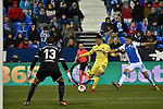 Leganes vs Villarreal Andres Fernandez In the area during Copa del Rey match. 20180104.