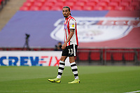 Randell Williams of Exeter City during the Sky Bet League 2 PLAY-OFF Final match between Exeter City and Northampton Town at Wembley Stadium, London, England on 29 June 2020. Photo by Andy Rowland.