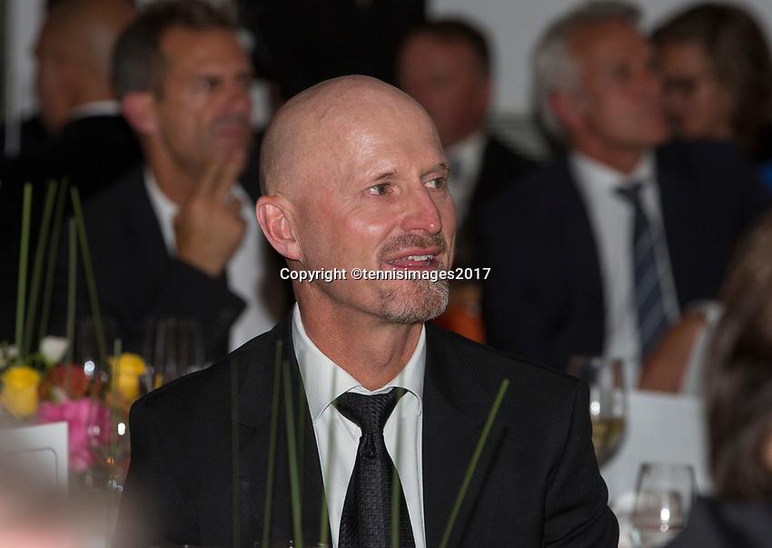 Paris, France, 5 June, 2017, Tennis, French Open, Roland Garros,  ITF Champions Dinner, Rohan Goetzke<br /> Photo: Henk Koster/tennisimages.com