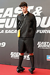Spanish actor Hugo Arbues during the photocall for the 'Fast & Furious 9' Madrid Premiere. June 17, 2021. (ALTERPHOTOS/Acero)