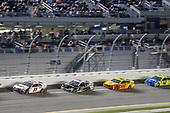 #11: Denny Hamlin, Joe Gibbs Racing, Toyota Camry FedEx Express, #10: Aric Almirola, Stewart-Haas Racing, Ford Mustang Smithfield, #22: Joey Logano, Team Penske, Ford Mustang Shell Pennzoil