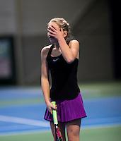 Hilversum, Netherlands, December 4, 2016, Winter Youth Circuit Masters, Yara Hamerling (NED)<br /> Photo: Tennisimages/Henk Koster
