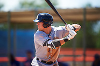 GCL Marlins first baseman Colby Lusignan (45) at bat during a game against the GCL Mets on August 12, 2016 at St. Lucie Sports Complex in St. Lucie, Florida.  GCL Marlins defeated GCL Mets 8-1.  (Mike Janes/Four Seam Images)