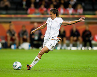 Shannon Boxx.  Japan won the FIFA Women's World Cup on penalty kicks after tying the United States, 2-2, in extra time at FIFA Women's World Cup Stadium in Frankfurt Germany.
