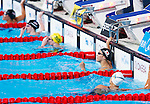 Aya Terakawa (JPN), <br /> JULY 30, 2013 - Swimming : Aya Terakawa of Japan reacts in the women's 100m backstroke final at the 15th FINA Swimming World Championships at Palau Sant Jordi arena in Barcelona, Spain.<br /> (Photo by Daisuke Nakashima/AFLO)
