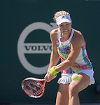 April  7, 2016:  Angelique Kerber (GER) defeated Kristina Kucova (SVK) 6-2, 6-3, at the Volvo Car Open being played at Family Circle Tennis Center in Charleston, South Carolina.  ©Leslie Billman/Tennisclix/Cal Sport Media