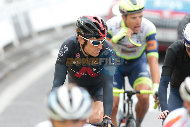 Geraint Thomas (WAL) Ineos Grenadiers crosses the finish line at the end of Stage 16 of the 2021 Tour de France, running 169km from Pas de la Case to Saint-Gaudens, Andorra. 13th July 2021.  <br /> Picture: Colin Flockton | Cyclefile<br /> <br /> All photos usage must carry mandatory copyright credit (© Cyclefile | Colin Flockton)
