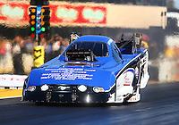 Jul 29, 2016; Sonoma, CA, USA; NHRA funny car driver Gary Densham during qualifying for the Sonoma Nationals at Sonoma Raceway. Mandatory Credit: Mark J. Rebilas-USA TODAY Sports