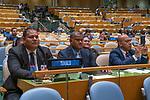 LOS general debate – 27 September<br /> <br /> PM<br /> <br /> His Excellency Enele Sosene SOPOAGA Prime Minister and Minister for Public Utilities of Tuvalu