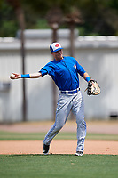 Toronto Blue Jays Christian Williams (71) during warmups before a Minor League Spring Training game against the Philadelphia Phillies on March 30, 2018 at Carpenter Complex in Clearwater, Florida.  (Mike Janes/Four Seam Images)