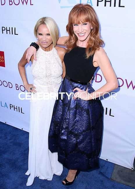 HOLLYWOOD, LOS ANGELES, CA, USA - JUNE 21: Kristin Chenoweth, Kathy Griffin at the 2014 Hollywood Bowl Opening Night And Hall Of Fame Inductions held at the Hollywood Bowl on June 21, 2014 in Hollywood, Los Angeles, California, United States. (Photo by Xavier Collin/Celebrity Monitor)