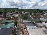 Downtown Orange located in Orange County, Virginia. Photo/Andrew Shurtleff