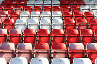 Seats at the Lamex during Stevenage vs Cambridge United, Sky Bet EFL League 2 Football at the Lamex Stadium on 26th December 2016