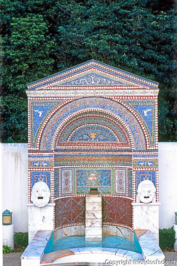 Malibu CA: J. Paul Getty Museum. Photo '86.