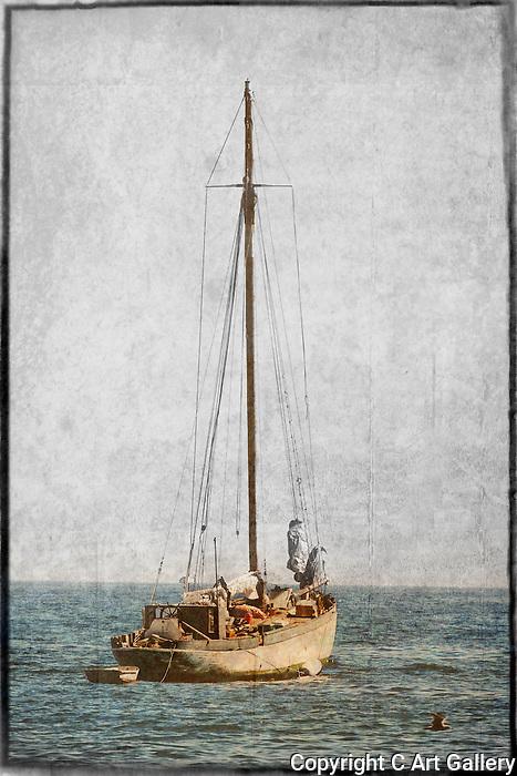 Sailboat of Corona del Mar. Photo by Alan Mahood.