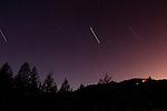 Night sky, Santa Cruz, Monterey Bay, California