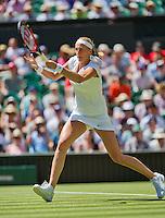 England, London, June 30, 2015, Tennis, Wimbledon, Petra Kvitova (CZE)<br /> Photo: Tennisimages/Henk Koster