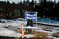 Polling station - NH Campaign - Bedford, NH - 9 Feb 2016