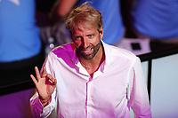 Massimiliano Rosolino Speaker<br /> Napoli 13-10-2019 Piscina Felice Scandone <br /> ISL International Swimming League <br /> Photo Cesare Purini/Deepbluemedia/Insidefoto
