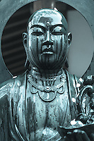 Budda statue at Araiyakushi Baishoin temple near Araiyakushimae station on seibu Shinjuku line in Nakano, Tokyo
