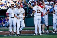 Florida State's Holt, Tyler 6864.jpg against TCU at the College World Series on June 23rd, 2010 at Rosenblatt Stadium in Omaha, Nebraska.  (Photo by Andrew Woolley / Four Seam Images)