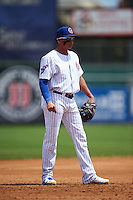 South Bend Cubs third baseman Bryant Flete (13) during the first game of a doubleheader against the Peoria Chiefs on July 25, 2016 at Four Winds Field in South Bend, Indiana.  South Bend defeated Peoria 9-8.  (Mike Janes/Four Seam Images)