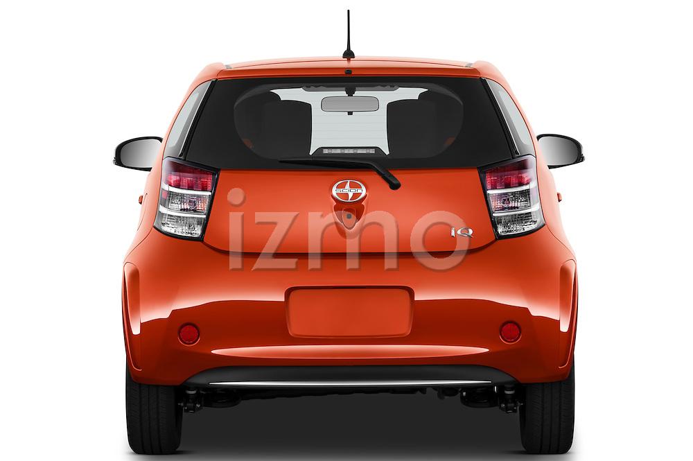 Straight rear view of a 2012 Scion IQ