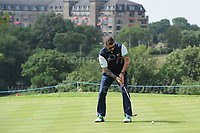 Brian McFadden of Team Ireland during the Bulmers 2018 Celebrity Cup at the Celtic Manor Resort. Newport, Gwent,  Wales, on Saturday 30th June 2018<br /> <br /> <br /> Jeff Thomas Photography -  www.jaypics.photoshelter.com - <br /> e-mail swansea1001@hotmail.co.uk -<br /> Mob: 07837 386244 -
