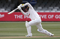 Dan Lawrence hits 4 runs for  Essex during Essex CCC vs Durham CCC, LV Insurance County Championship Group 1 Cricket at The Cloudfm County Ground on 15th April 2021