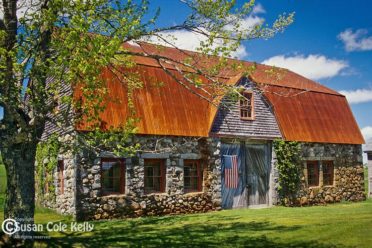Stone barn, Bar Harbor, ME