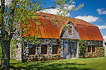 Stone barn, Bar Harbor, ME