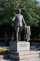 Denkmal im Eichenpark, Bishkek, Kirgistan, Asien<br /> Monument in the Oak-Park , Bishkek, Kirgistan, Asia