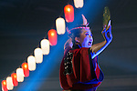 A Japanese dancer performs during the Moshi Moshi Nippon Festival 2016 on November 26, 2016 in Tokyo, Japan. Moshi Moshi Nippon Festival 2016 aims to promote Japanese pop culture (fashion, anime, technology, music and food) to the world, and non-Japanese visitors are able to enter the event for free by showing their passport. This year's two day event included live shows by Japanese pop stars Silent Siren, Dempagumi.inc, Tempura Kids, Capsule and Kyary Pamyu Pamyu at the Tokyo Metropolitan Gymnasium. (Photo by Rodrigo Reyes Marin/AFLO)