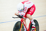 Krzysztof Maksel of Poland competes in the Men's Kilometre TT Final during the 2017 UCI Track Cycling World Championships on 16 April 2017, in Hong Kong Velodrome, Hong Kong, China. Photo by Marcio Rodrigo Machado / Power Sport Images