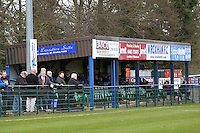 The main stand at Trafford Park - Wroxham vs Needham Market - Ryman League Division One North Football at Trafford Park, Wroxham, Norfolk - 04/04/15 - MANDATORY CREDIT: Gavin Ellis/TGSPHOTO - Self billing applies where appropriate - contact@tgsphoto.co.uk - NO UNPAID USE